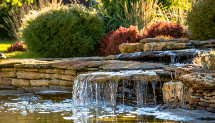 benefits landscaping water features